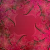 抽象背景黑色明亮的设计红色模板 皇族释放例证