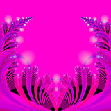 抽象背景黑色蓝色流行粉红红色模板 库存照片