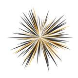 抽象背景黑色设计展开例证星形 免版税图库摄影