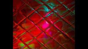 抽象背景,未来派创造性的荧光的幻想的万花筒 股票录像