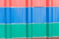抽象背景,红色,绿色,蓝色锌红色蓝绿色 免版税库存图片