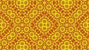 抽象背景,红黄色口气,圈 库存例证