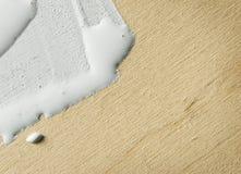 抽象背景,绘在木头 库存图片