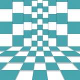 抽象背景 也corel凹道例证向量 库存例证