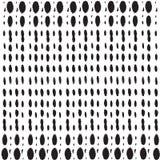 抽象背景 几何小点被排行的无缝的样式 免版税图库摄影