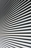 抽象背景 分流在光芒的黑白线 图库摄影