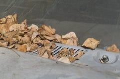 抽象背景 干燥l包括的一辆被放弃的汽车的细节 免版税库存图片