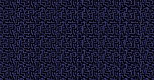 抽象背景 微集成电路布局拓扑结构元素 免版税图库摄影