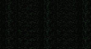 抽象背景 微集成电路布局拓扑结构元素 免版税库存图片