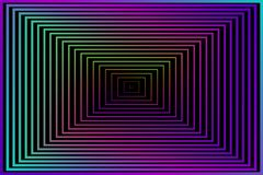 抽象背景 您的墙纸或设计的传染媒介例证 黑,紫色,桃红色,蓝色,绿色 正方形色的mod 库存例证