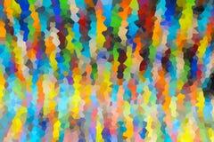 抽象背景结晶 免版税图库摄影