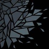 抽象背景 残破的玻璃的作用 投反对票 皇族释放例证