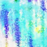 抽象背景破碎了纹理水色土耳其玉色紫色 图库摄影