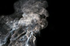抽象背景 背景黑色烟 库存照片