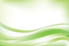 抽象背景绿色向量 免版税库存图片