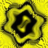 抽象背景黄色 向量例证