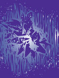 抽象背景紫色 免版税图库摄影