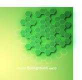 抽象背景绿色 库存例证