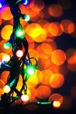 抽象背景 被弄脏的新年点燃诗歌选 免版税库存图片