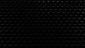 抽象背景-黑蜂窝 3d翻译 皇族释放例证