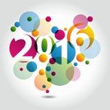 抽象背景2016年 库存例证