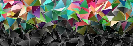 抽象背景3D 库存图片