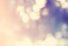 抽象背景Defocused斑点光柔和的淡色彩 库存照片