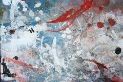 抽象背景grunge被绘的墙壁 图库摄影