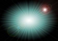 抽象背景starburst 库存照片