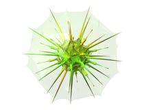 抽象胶囊防护病毒 免版税库存照片