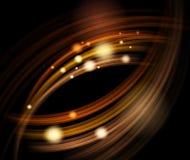 抽象能源通知 向量例证