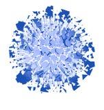 抽象能量力量爆炸爆炸和微粒  库存照片