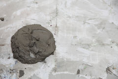 抽象膏药灰泥墙壁建筑胶粘剂背景te 免版税库存图片