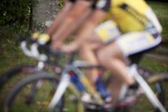 抽象自行车种族 免版税库存照片