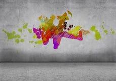抽象舞蹈演员 图库摄影