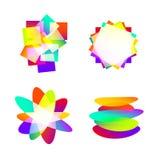 抽象色素想法 库存图片