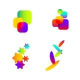 抽象色素想法 免版税库存图片