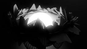 抽象花动画 皇族释放例证