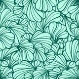 抽象花卉无缝的模式 免版税库存图片