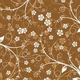 抽象花卉模式 库存图片