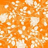 抽象花卉模式vecto 库存照片