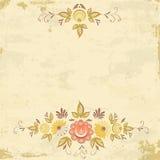 抽象花卉背景 库存照片
