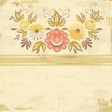 抽象花卉背景 库存图片