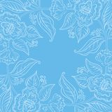 抽象花卉背景 免版税库存图片