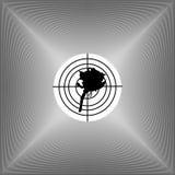 抽象花银向量 库存图片