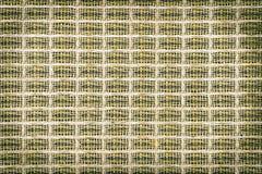 抽象葡萄酒构造了与银色格栅凝块的乙烯基覆盖物 免版税库存照片