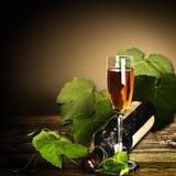 抽象葡萄酒酿造背景 免版税库存照片