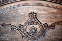 抽象葡萄酒难看的东西木背景 免版税库存照片
