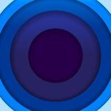 抽象蓝纸盘旋背景 库存照片