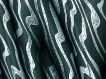 抽象蓝绿色背景,流动的未来派梯度patt 免版税库存图片
